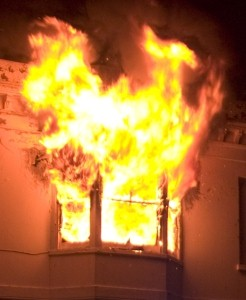 Man sets house ablaze because he was tired of cleaning it