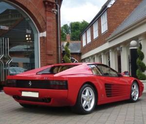 Schoolgirl, 7, driving replica Ferrari