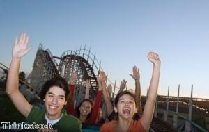 Adrenaline-seekers flock to world's tallest rollercoaster