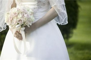 Brides don old wedding dresses for charity