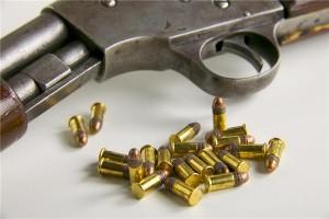 Crazy man tests bullet proof vest