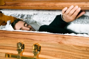 Egyptian man 'comes back from the dead'