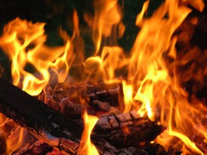 Fire-breathing vicar 'lights up sermon'