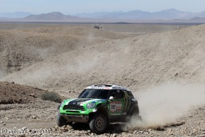 Former British soldiers complete Dakar Rally