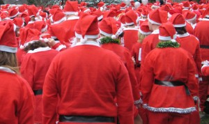 New Milton Santa Fun Run raising money for Pilgrim Bandits