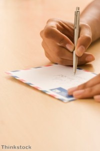 What to write in a letter to a penpal