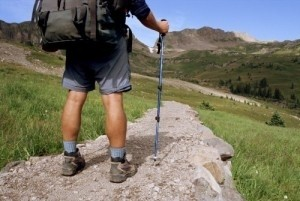 Man walking length of UK with H4H
