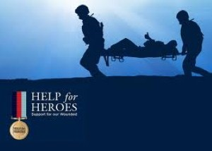 Month-long charity drive raises money for Help for Heroes