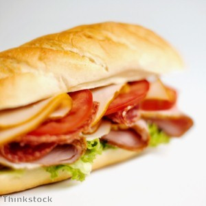 Alphabet Sandwich 'features food beginning with every letter'