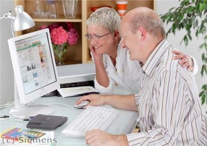 Over-65s 'embrace modern technology'