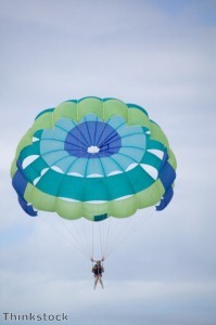 Parachuting 70-year-old raises money for H4H