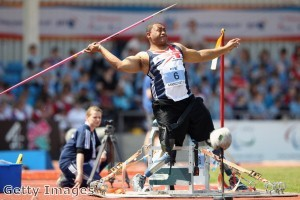 Paralympics British armed forces hero - Derek Derenalagi
