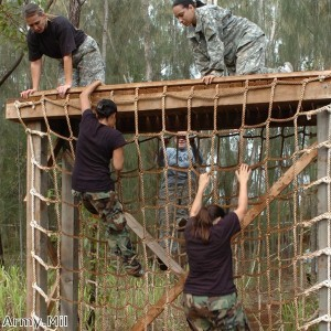 Personal trainers complete 11-mile obstacle course for H4H