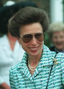 Princess Anne meets soldiers in royal visit