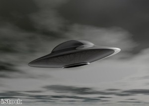 Say cheese: Flying saucer 'commands man to take its picture'