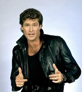 Someone's been hassling The Hoff
