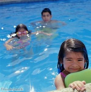 Sponsored swim raises money for injured heroes