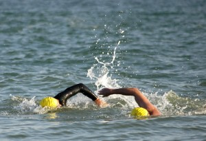 Swimming the Channel for cancer charity