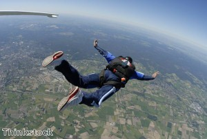 Granny takes first skydive aged 90