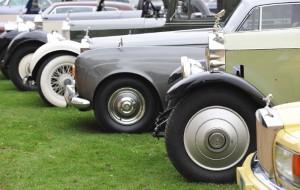 Vintage Rolls Royce donated in Help for Heroes raffle